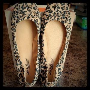 Lucky Brand Emmie leopard flats